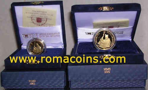200 100 50 20 10 euro vaticano monete in oro 2017 2016 2015 2014 - Sterlina oro 2017 fondo specchio ...