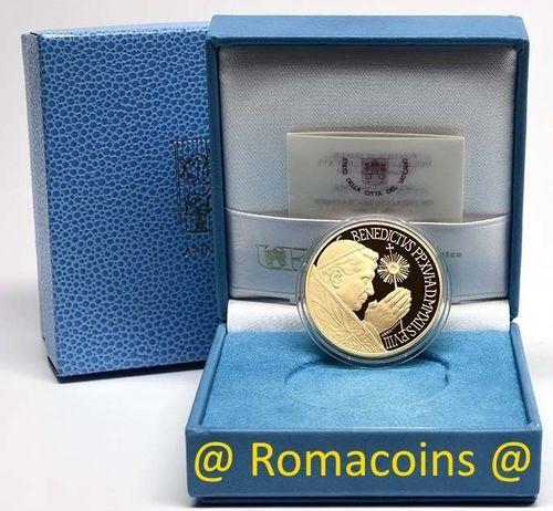200 Euros Vaticano 2012 Moneda Oro Proof