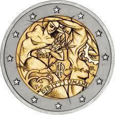 2 Euro Italien 2005 Europäische Verfassung Münzrolle Romacoins