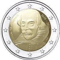 2 Euro Sondermünzen San Marino Münzen 2019 2018 2017 2016 2015 20