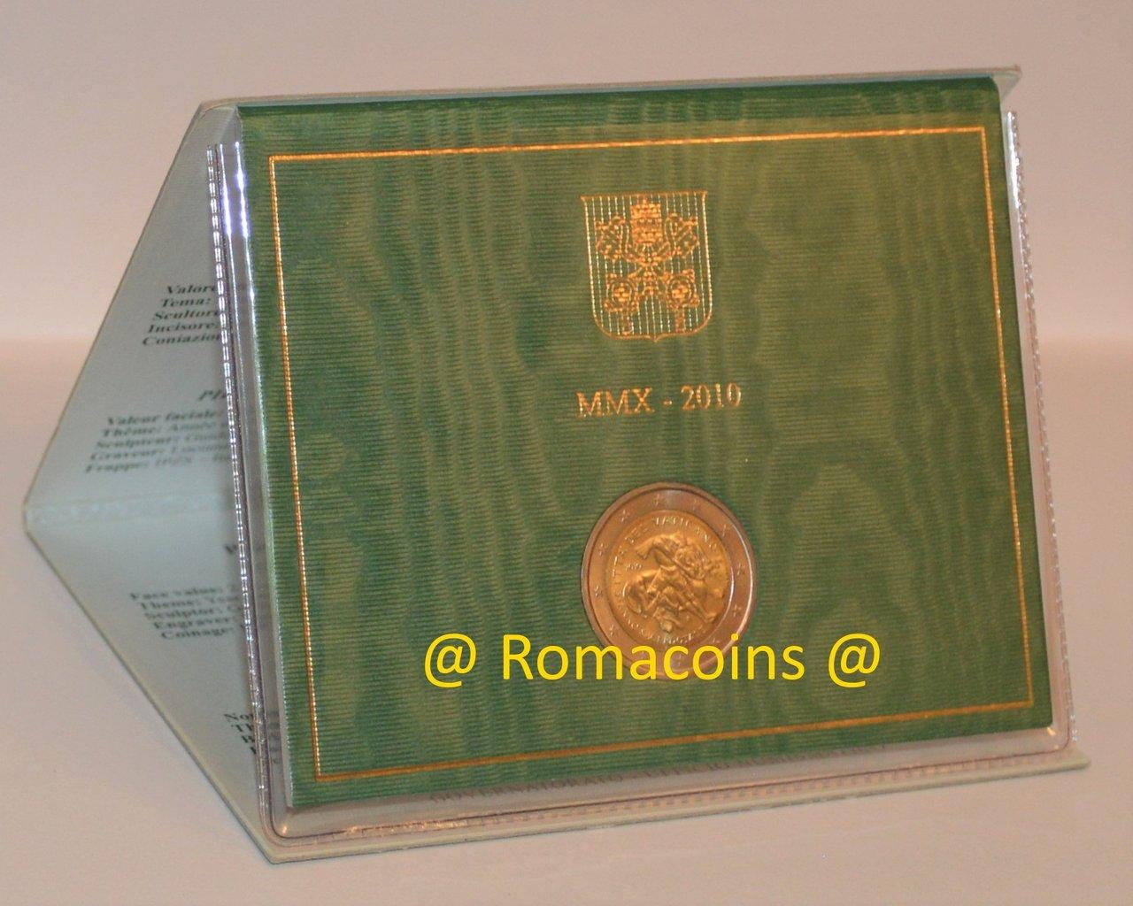 2 Euro MÜnze Selten Vatikan Papst Benedikt Xvi