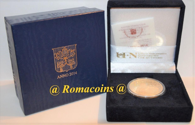 200 euro vaticano 2014 oro fondo specchio fs romacoins - Sterlina oro 2017 fondo specchio ...