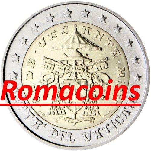2 Euro Vatikan 2005 Sedisvakanz Kursmünze Prägefrisch Romacoins