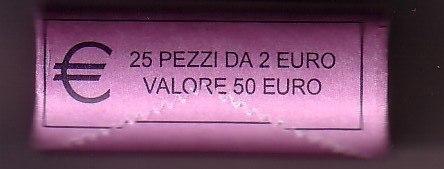2 Euro Italien Münzen Dante Alighieri Romacoins