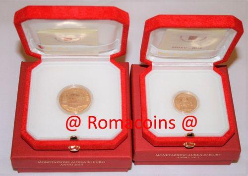 200 100 50 20 10 euro vatikan goldm nzen 2018 2017 2016 romacoins - Sterlina oro 2017 fondo specchio ...