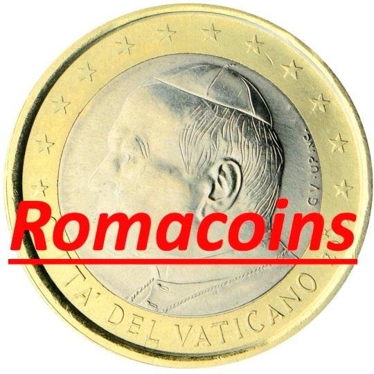 1 Euro Vatikan 2002 Kursmünze Prägefrisch Romacoins