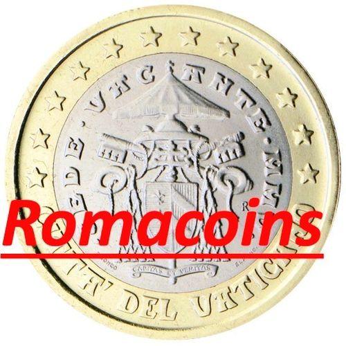 1 Euro Vatikan 2005 Sedisvakanz Kursmünze Prägefrisch Romacoins