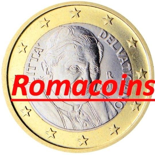 1 Euro Vatikan 2006 Kursmünze Prägefrisch Romacoins