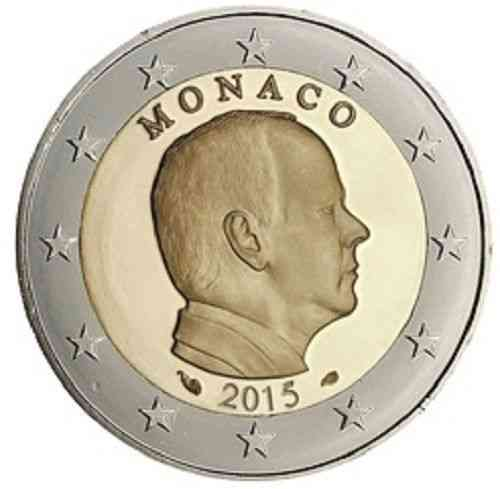 2 euros commemoratives monaco be bu pieces 2018 2017 2016. Black Bedroom Furniture Sets. Home Design Ideas