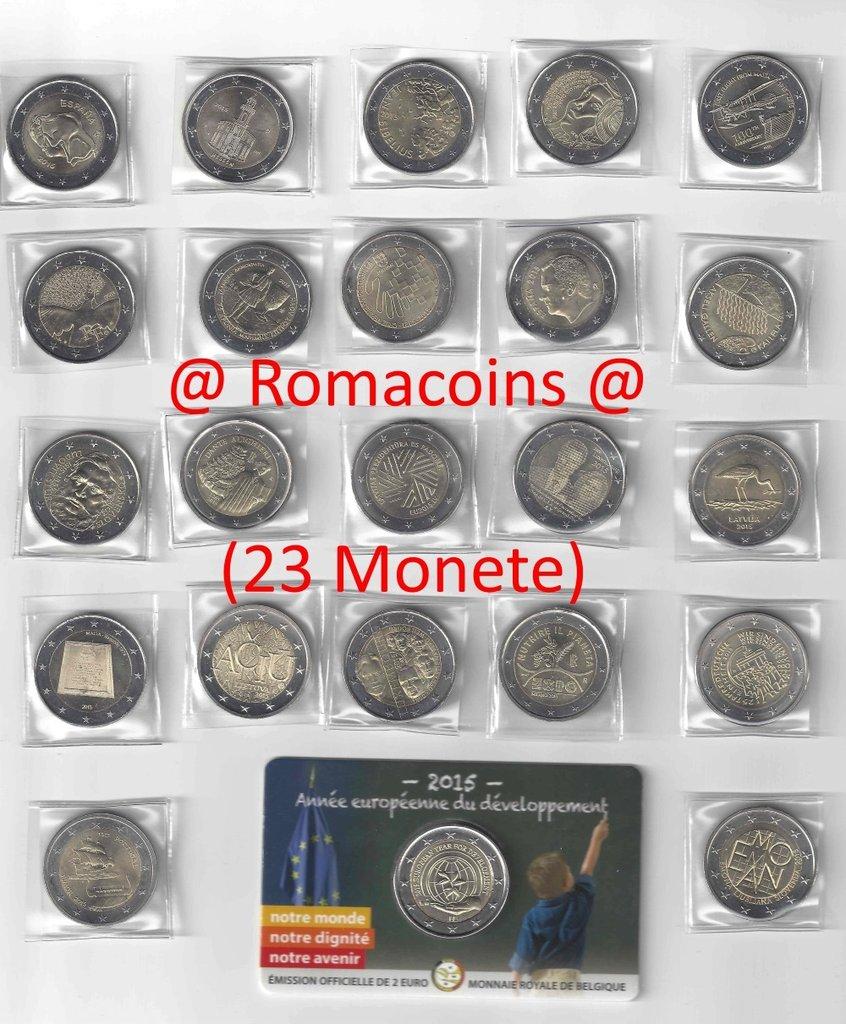 01efc9805d 23 x 2 Euro Commemorativi 2015 Monete Collezione Completa - Roma