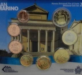 San Marino Bu Set 2014 Euro 8 Coins Romacoins