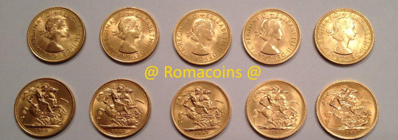 10 Libras Esterlinas Oro Gran Bretaña Queen Elizabeth 917