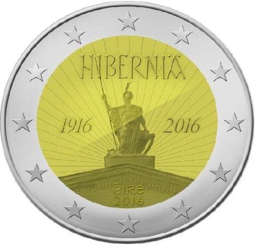 2 Euro Sondermünze Irland 2016 Hibernia Unc Romacoins