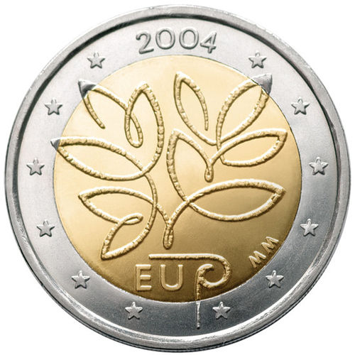 2 Euro Commemorative Coin Finland 2004