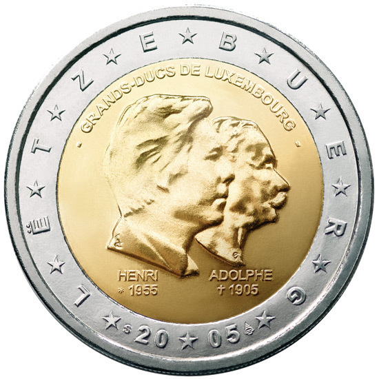 2 Euro Sondermünze Luxemburg 2005 Romacoins