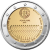 2 Euro Commemorativi Portogallo 2008 Moneta