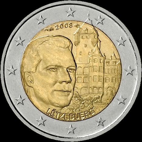 2 Euro Sondermünze Luxemburg 2008 Münze Romacoins