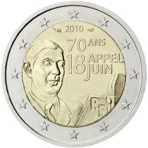 2 Euro Sondermünze Frankreich 2010 Münze Romacoins