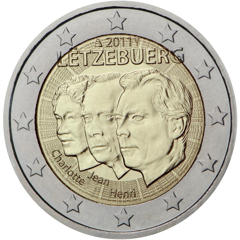 2 Euro Sondermünze Luxemburg 2011 Münze Romacoins