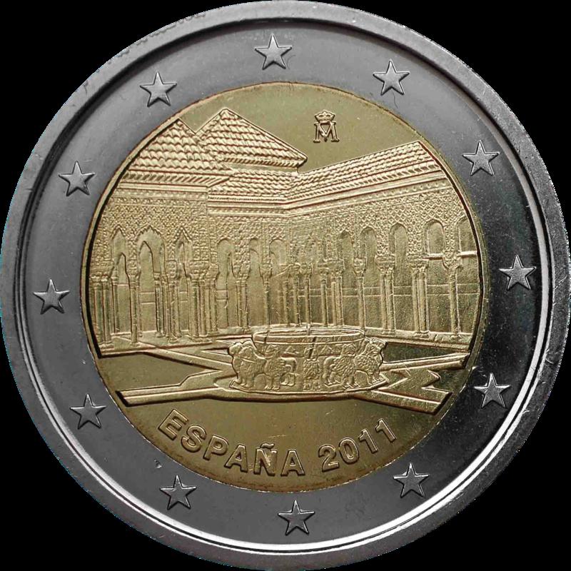 2 Euro Sondermünze Spanien 2011 Münze Romacoins