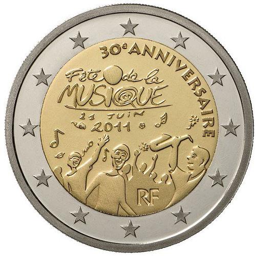9bd46c2654 2 Euro Commemorativi Francia Monete - Romacoins