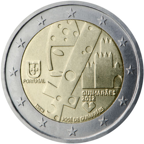 2 Euro Commemorativi Portogallo 2012 Moneta