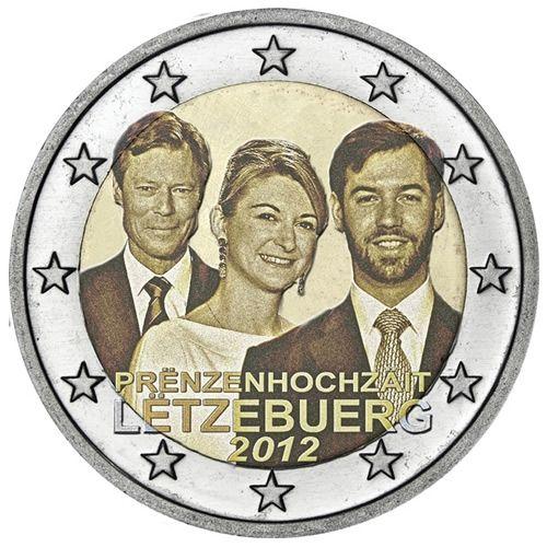 2 Euro Gedenkmünzen Luxemburg Münzen Romacoins