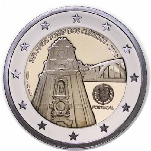 2 Euro Commemorativi Portogallo 2013 Moneta