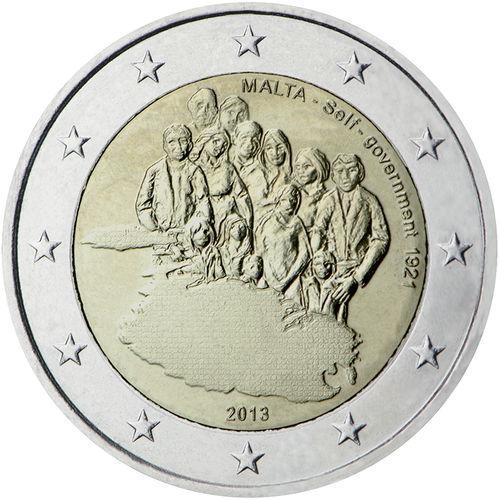 2 Euro Sondermünze Malta 2013 Münze Romacoins