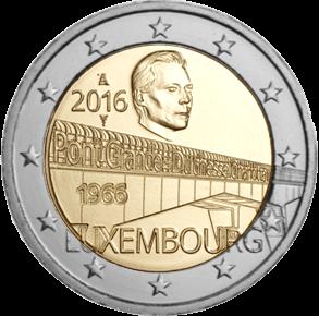 2 Euro Sondermünze Luxemburg 2016 Münze Grande Duchesse Romacoins