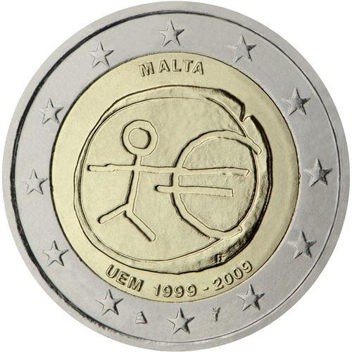 2 Euro Gedenkmünzen Malta Münzen Romacoins