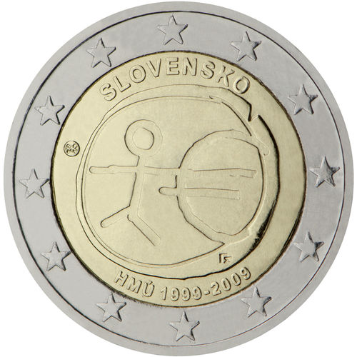 2 Euro Gedenkmünzen Slovakei Münzen Romacoins