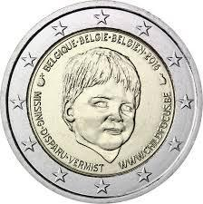 2 Euro Commemorativi Belgio 2016 Moneta Child Focus
