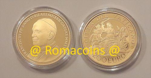 200 100 50 20 10 euro vaticano monete in oro 2018 2017 2016 2015 - Sterlina oro 2017 fondo specchio ...