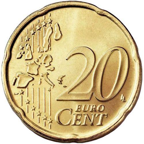 20 Cent Italien 2014 Kursmünze Euro Prägefrisch Unc Romacoins