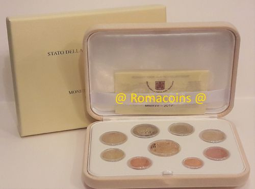 Vatican Proof Set 2017 50 Euro Gold
