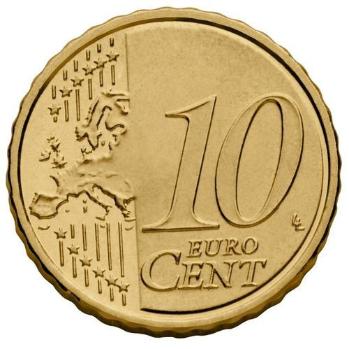 10 Cent Italien 2015 Kursmünze Euro Prägefrisch Unc Romacoins