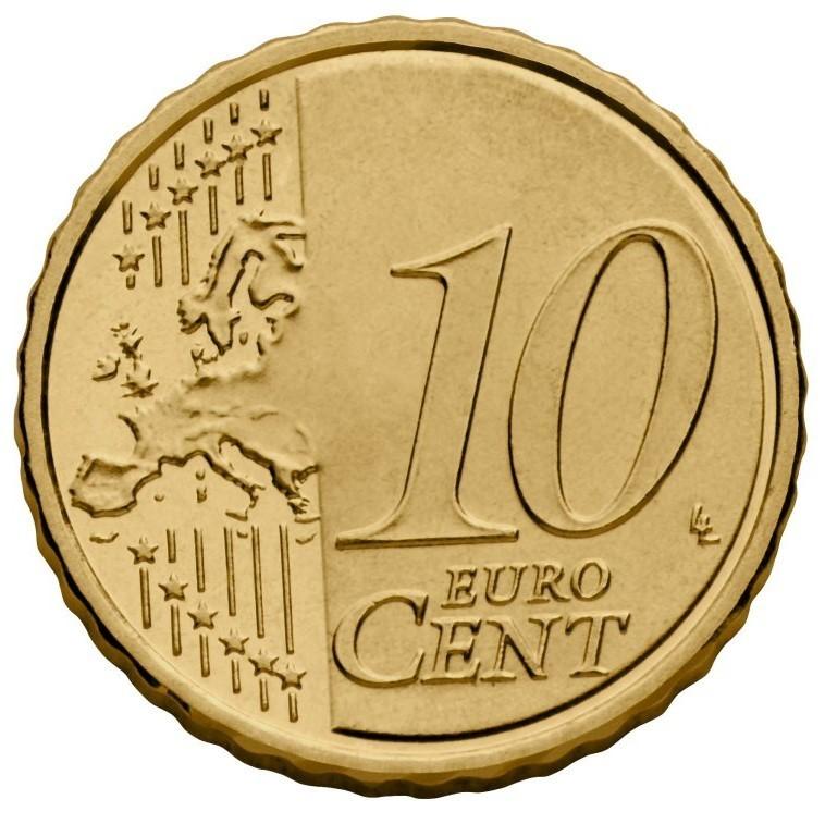 10 Centimes Italie 2015 Euros Bu Unc Romacoins