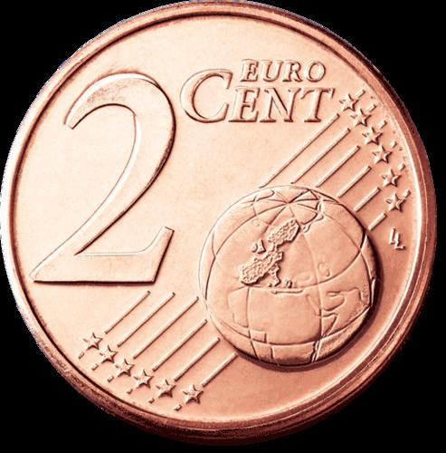 2 Cent Italien 2014 Kursmünze Euro Prägefrisch Unc Romacoins