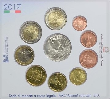Bu Set Italy 2017 Euro 10 Coins 5 Euro Treaty of Rome