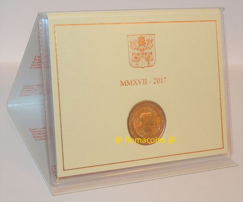 2 Euro Commemorative Coin Vatican 2017 Saints Peter and Paul