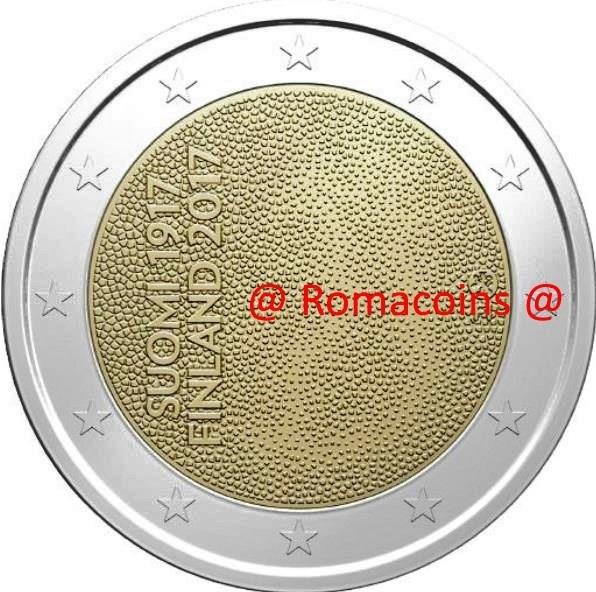 2 Euro Sondermünze Finnland 2017 100 Jahre Unabhängigkeit Romacoi