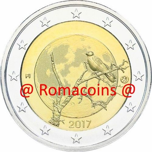 2 Euro Commemorative Coin Finland 2017 Finnish Nature