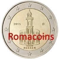 2 Euros Commémorative Allemagne 2015 Hessen Atelier D Romacoins