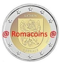 2 Euro Sondermünze Lettland 2017 Münze Latgale Romacoins