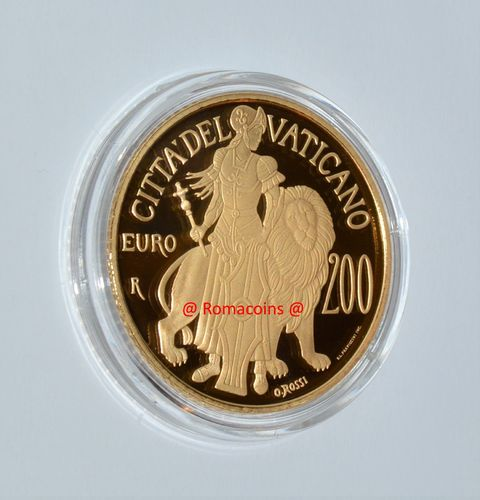200 Euro Vatican 2017 Gold Coin Proof