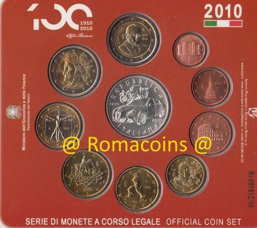 Kms Italien Kursmünzensätze Euro St Pp Polierte Platte Romacoins