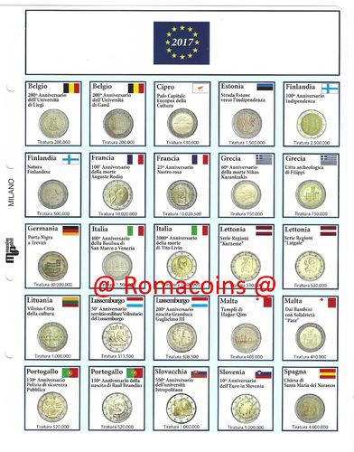 AVILA WALL #RM# 2 EURO COMMEMORATIVE SPAIN 2019