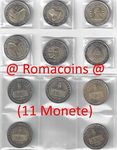 2 Euro Sondermünzen 2009 Münzen Romacoins