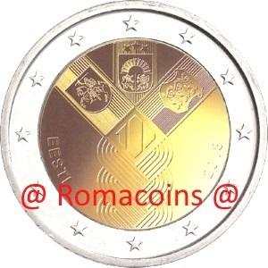 2 Euro Commemorativi 2018 Monete Romacoins